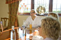 Breakfast at Homefield Grange Detox &amp; Weight Loss Spa Retreat